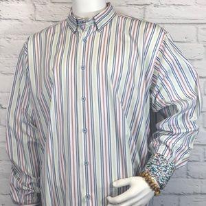 Visconti Uomo Shirts - Visconti Uomo Men's size XL longsleeve Buttonfront